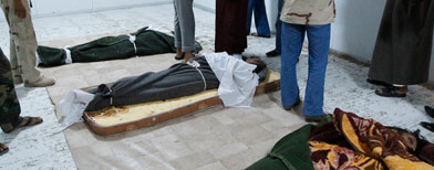 Dépouille de Kadhafi