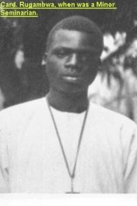le jeune Rugambwa