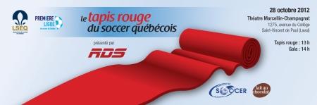 Tapis Rouge du Soccer Québécois