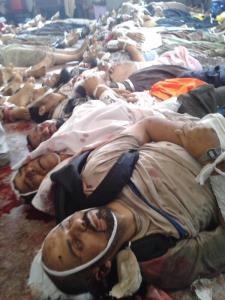 L'horreur d'une intervention policière au Caire