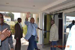 Le ministre d'Etat Isidore Mvouba
