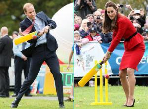 Kate contre William au stiletto