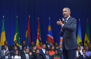 """Obama: le monde a besoin d'une Afrique """"forte et autonome"""" © AFP"""