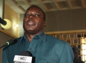 Marcel Ntsourou, ex-chef adjoint du Renseignement © AFP