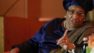 Ellen Johnson Sirleaf, présidente du Liberia Reuters/Jonathan Ernst