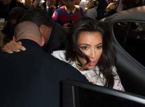 Kim Kardashian en émoi