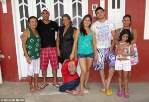 Claudio en famille