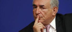 Le directeur du FMI, Dominique Strauss-Kahn, ici lors d'une conférence à Bercy en juin 2010. REUTERS/Benoit Tessier