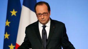 «Il y a environ 1000 Français ou résidents en France en Syrie», détaille le chef de l'État. Crédits photo : POOL/REUTERS
