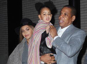 Beyoncé, Blue Ivy et Jay-Z