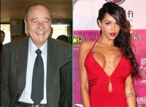 Jacques Chirac et Nabilla,