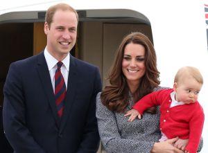 William, Kate et Baby George