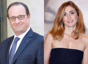 François Hollande  et Julie Gayet dans la discrétion uu Palais