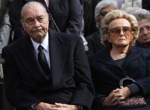Jacques Chirac et ses moments avec Bernadette