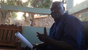Depuis son fief de Boy-Rabe Patrice-Edouard Ngaissona, coordonnateur national des anti-balaka, contesté par une autre figure du mouvementLaurent Correau/RFI
