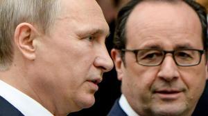Poutine et Hollande