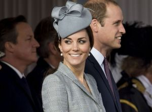 Kate, jjoyeuse et souriante