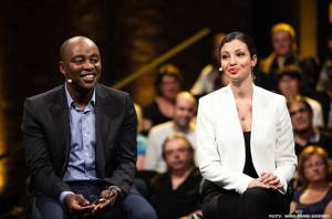 collaboration spéciale L'épisode de samedi soir de Laboratoire MAtv s'intéressera au multiculturalisme. Sur la photo: le mentor François Bugingo et l'animatrice Tamy Emma Pepin.