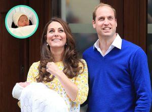 Kate, William et Charlotte Elizabeth Diana