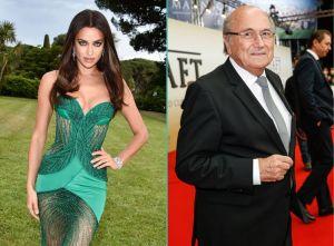 Irina Shayk et Sepp Blatter