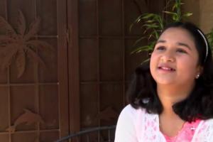 Ria Chevuru, 11 ans!