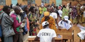 Un bureau des élections au Burundi