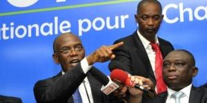 L'ancien président de l'Assemblée nationale ivoirienne Mamadou Koulibaly, le 15 mai 2015 à Abidjan. © Sia Kambou/AFP