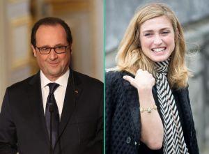 François Hollande et Julie Gayet au 18 juin