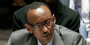 Le FPR, parti au pouvoir, s'est prononcé en faveur d'un troisième mandat de Paul Kagamé. © Julie Jacobson/AP/SIPA