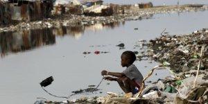Vue d'un quartier d'Haïti