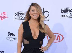 Mariah Carey, souriante et ravissante!