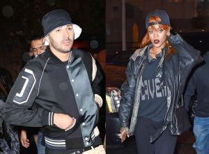 Benzema et Rihanna: cool rencontre
