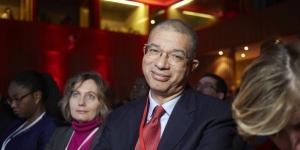 Le Franco-Béninois Lionel Zinsou au Forum africain de Bercy, le 6 février 2015. © Bruno Levy pour J.A.