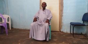 Alkhali Mahamat Bichara s'est fait interrogé par Hissène Habré lui-même. © Rémi Carayol, pour J.A.