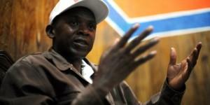 Agathon Rwasa, principal opposant burundais et candidat à la présidentielle de 2015. © Roberto Schmidt/AFP