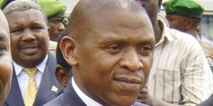 Agathon Rwasa à son retour au Burundi en 2008 après 20 ans d'exil. © ERIC MANIRAKIZA/AP/SIPA