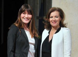 Carla Bruni et Valérie Trierweiler