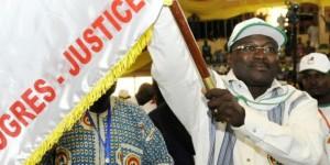 Eddie Komboïgo, président du CDP et candidat à la présidentielle. © Ahmed Ouoba/AFP