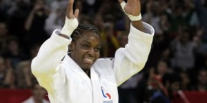 Gévrise Émane, championne du monde de judo, 2015. © François Mori/AP/SIPA