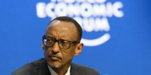 Paul Kagame, président du Rwanda, janvier 2015. © Jean-Christophe Bott/AP/SIPA