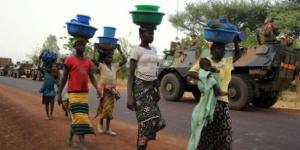 Des Maliennes le 1er février 2013 à Sévaré. © Pascal Guyot/AFP