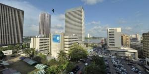 Le quartier administratif et d'affaires du Plateau, à Abidjan. © Nabil Zorkot pour J.A.