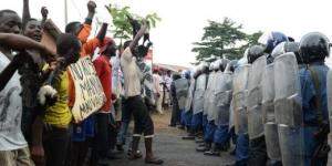 Burundi: Musaga, foyer de la contestation à Bujumbura, se retranche © AFP