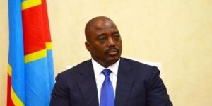 Joseph Kabila, le président de la RDC, le 19 janvier 2015 à Kinshasa. © Tutondele Miankenda/AFP