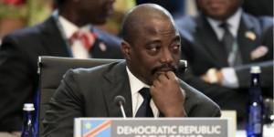 Le président congolais, Joseph Kabila, lors du sommet États-Unis - Afrique, en juin 2014. © Jim Watson/AFP