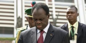 Le président de transition burkinabè, Michel Kafando, en décembre 2014 à Abuja. © Pius Utomi Ekpei/AFP