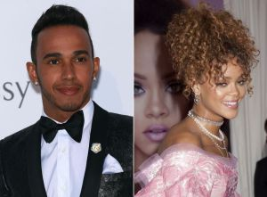 Lewis Hamilton et Rihanna