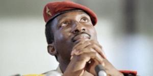 Thomas Sankara, ancien président du Burkina Faso, assassiné le 15 octobre 1987. © AFP
