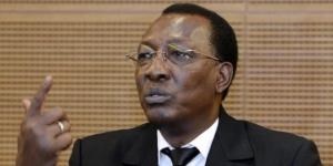 Idriss Déby Itno, le président tchadien. © AFP