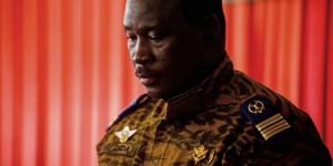 Issac Yacouba Zida, le 3 novembre 2014. © Theo Renaut/AP/SIPA